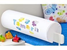 Chránič na dětskou postel SE JMÉNEM - vzor MOTÝLI
