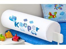 Chránič na dětskou postel SE JMÉNEM - vzor SWEET BLUE