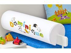 Chránič na dětskou postel SE JMÉNEM - FARMA 2