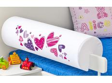 Chránič na dětskou postel - SRDÍČKA