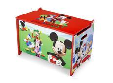 Dětská dřevěná truhla na hračky MICKEY MOUSE