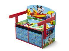 Dětská lavice s úložným prostorem Myšák Mickey