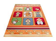 Dětský koberec KLUBÍK - oranžový