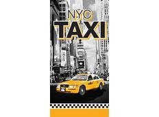 Dětská osuška Taxi