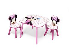 Dětský stůl s židlemi Disney MYŠKA MINNIE III