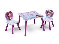 Dětský stůl s židlemi LEDOVÉ KRÁLOVSTVÍ