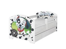 Dětská postel Disney - 101 DALMATINŮ 140x70 cm