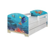 Dětská postel Disney - HLEDÁ SE NEMO 140x70 cm