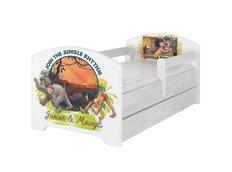 Dětská postel Disney - KNIHA DŽUNGLÍ 140x70 cm