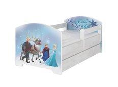 Dětská postel Disney - LEDOVÉ KRÁLOVSTVÍ 160x80 cm