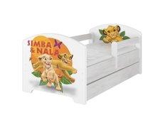 Dětská postel Disney - LVÍ KRÁL 160x80 cm