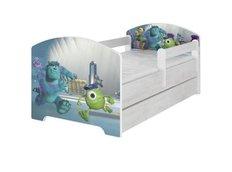 Dětská postel Disney - PŘÍŠERKY s.r.o. 140x70 cm