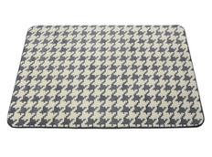 Moderní koberec 3D - Stopa - šedý
