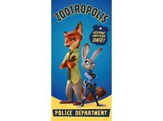 Dětská osuška Zootropolis 004