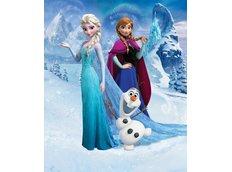 Dětská 3D tapeta Disney LEDOVÉ KRÁLOVSTVÍ