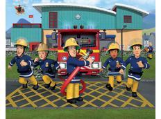 3D tapeta Požárník Sam