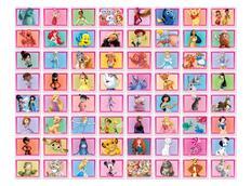 Dětská 3D tapeta Disney KOLÁŽ - růžová