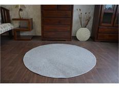 Kulatý koberec ŠEDÝ