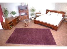 Kusový koberec SHAGGY CARNIVAL – purpurový