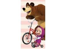 Dětská osuška Máša a medvěd 016