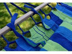 Houpací síť s polštářkem 200x120 cm - detail