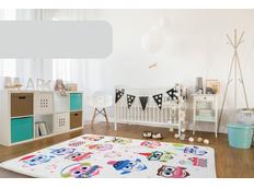 Dětský koberec Soft - ZIMNÍ SOVIČKY