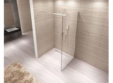 Koupelnová pevná zástěna AERO 110 cm