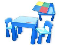 Dětský stůl se židličkami MAMUT - modrý