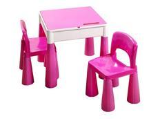 Dětský stůl se židličkami MAMUT - růžový