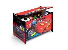 Dřevěná truhla na hračky CARS 2
