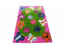 Dětský koberec Růžoví motýli