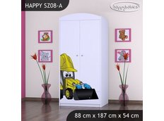 Dětská skříň BAGR - TYP 8A