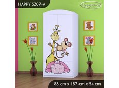 Dětská skříň SAFARI - TYP 7A