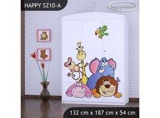 Dětská skříň SAFARI - TYP 10