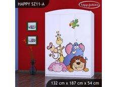 Dětská skříň SAFARI - TYP 11