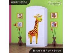 Dětská skříň MADAGASKAR - TYP 7B