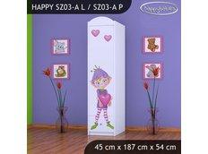 Dětská skříň - TYP 3A