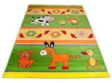 Dětský koberec FARM GREEN