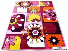 Dětský koberec FIALOVÁ FANTAZIE - dětské koberce
