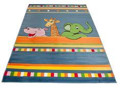 Dětský koberec JUNGLE BLUE - dětské koberce