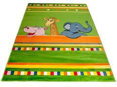 Dětský koberec JUNGLE GREEN - dětské koberce