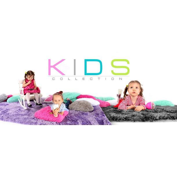 Plyšový dětský koberec GRAFIT