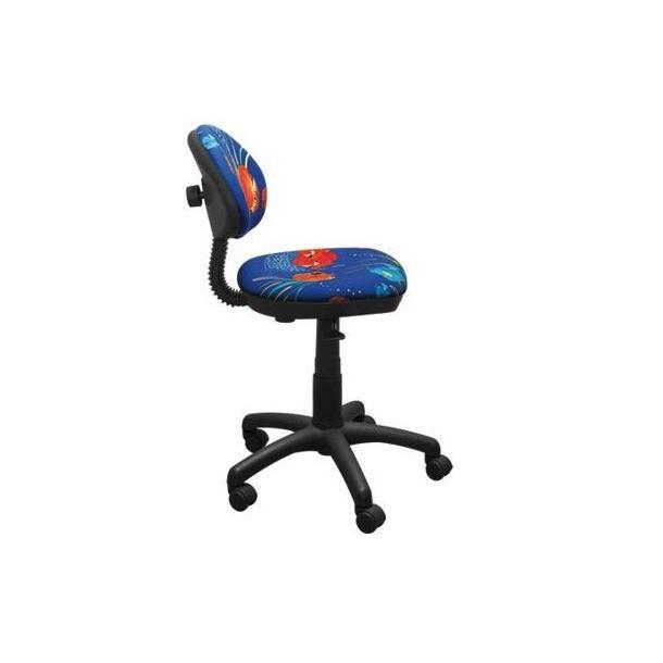 Dětská otočná židle TYP 1 - VLÁČEK červená