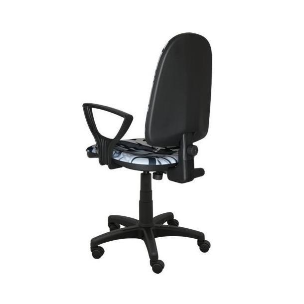 Dětská otočná židle BRANDON - GRAFFITI černá