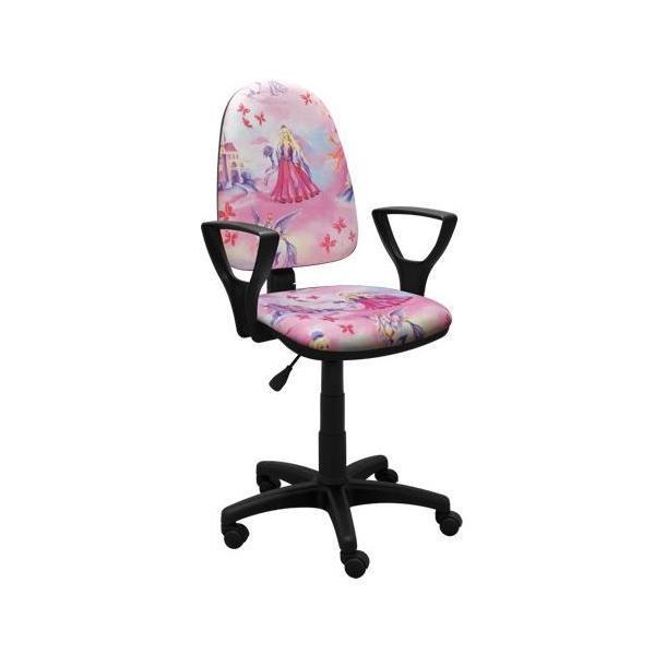 Dětská otočná židle BRENDA - PINK