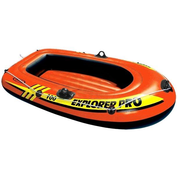 Člun nafukovací EXPLORER PRO - oranžový