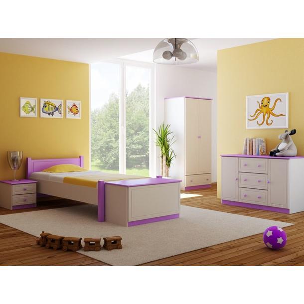 Barevné provedení - bílá-fialová
