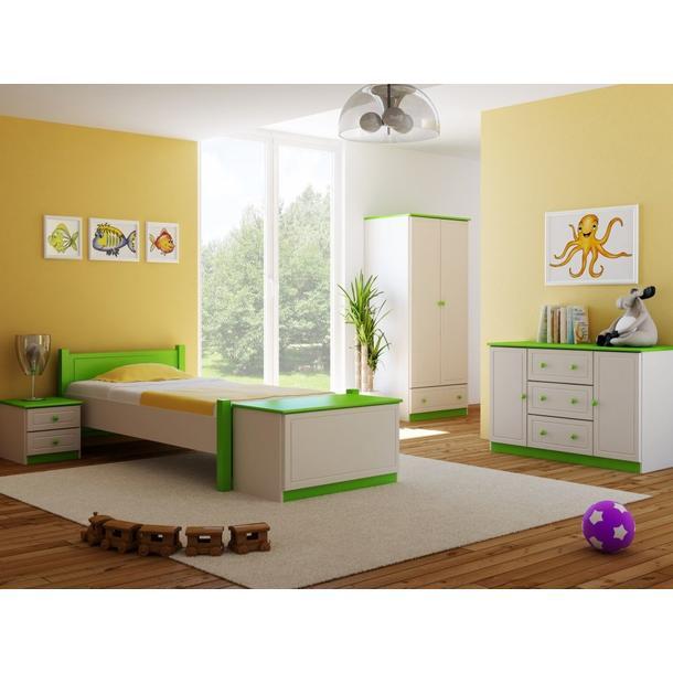 Barevné provedení - bílá-zelená