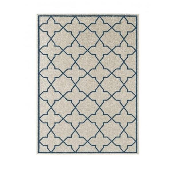 Kusový koberec Chateau Viva - modrý