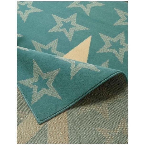 Kusový koberec CITY MIX Stars - světle modrý